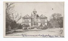 1908 Postcard of the Grammar School at San Mateo CA