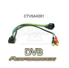 Connects2 CTVSAX001 Saab 9-5: 2006 Onwards Aux Input MP3 iPod iPhone