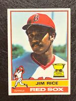 1976 Topps Jim Rice 2nd Year Card #340 EX Boston Red Sox HOF