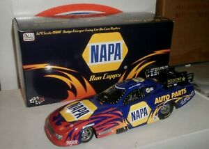 NHRA 1/24 AUTO WORLD RON CAPPS 2008 NAPA DODGE 1ST YEAR NAPA  F/C + signed HO