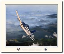 Hellcat's Breakfast by Jack Fellows - F6F Hellcat - Aviation Art Prints