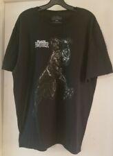 Adult Unisex Marvel Comic Avengers BLACK PANTHER SS T-shirt Black Sz 2z Preowned