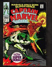 Captain Marvel #2 ~From the Void of Space Comes-the Super Skrull!~ 1968 (4.5) Wh