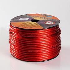 Road Rage Red 10 Gauge AWG 250 FT Xtreme Hight Performance Wire Cables