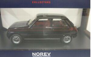 Renault 5 Alpine noir   1:18