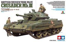Tamiya 37025 - 1/35 British Cruiser Tank Mk.Vi Crusader Mk.III - Neu