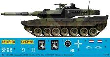 Peddinghaus 1/16 Leopard 2A5 Tank Markings Dutch 42 Tkbat RHPO SFOR Bosnia 3585