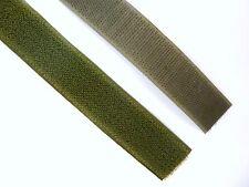 Army Surplus MTP NATO Olive Green 25mm Velcro Hook & Loop Sewing Uniform B3