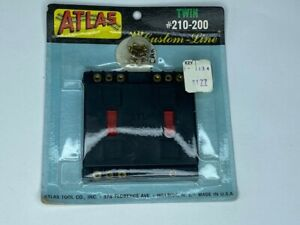 NEW ATLAS CUSTOM-LINE TWIN #210-200 ELECTRIC CONTROL SWITCH ATLAS TOOL CO.