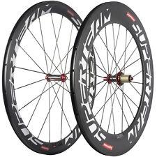SUPERTEAM Carbon Wheelset Road Bike 50/88mm Clincher Carbon Wheels R36 Hub