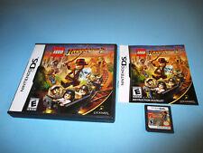 Lego Indiana Jones 2 (Nintendo DS) Lite DSi XL 3DS 2DS Game w/Case & Manual