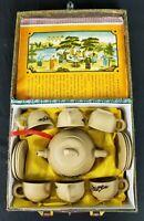 Vintage Chinese Travel Tea Set     VERY RARE