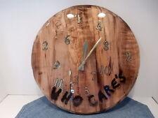 Southern Oregon Coast Myrtle Wood Who Care's Clock