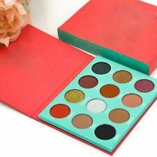 12 Colors Beauty Shimmer Eye Shadows Palette Makeup Powder Flexibility Lasting