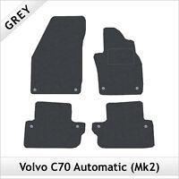 VW Toureg 2010-2012 Fully Tailored Black Rubber Car Mats With Black Binding
