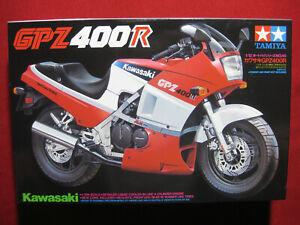1985 Kawasaki GPZ400R 1/12 Tamiya Plastic Model Kit Motorcycle Rare