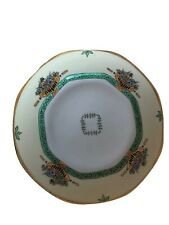 Antique 1932 Czechoslovakia Porcelain Hand Painted With Signature Cabinet plate