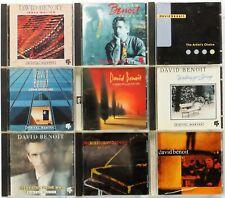 David Benoit 9 CD collection 1977-1999