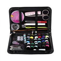 1 Set Thread Needle Threader Measuring Tape Scissors Sewing Kit Home Travel Kits