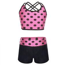 Girls Ballet Dance Leotard Dress Toddler Kids Gymnastic Dancewear Sport Jumpsuit