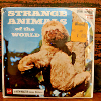 Strange Animals of the World Sealed 1958 View Master 3 Reel Pack
