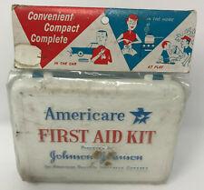 Americare First Aid Kit NOS Sealed Johnson & Johnson American Republic Insurance