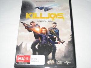 KILLJOYS season 1 DVD R4 NEW/SEALED