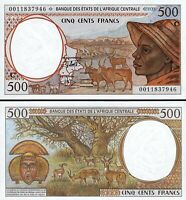 Central African States, CONGO 500 Francs, 2000, UNC, P-101Cg