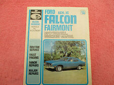sp manual  ford falcon fairmont 6cyl xc  service and repair manual no 160