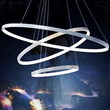 Modern Ring Acrylic LED Ceiling Pendant Light Fixture Chandelier Lamp Lighting