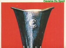 218 TROPHEE TROPHY WINNERS UEFA CUP STICKER FOOTBALL 1980 BENJAMIN RARE