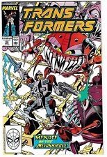 "TRANSFORMERS #52 (NM-) ""Menace of the Mechannibals!"" Marvel 1989 LQQK"