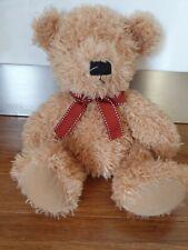 Harrods Knightbridge Teddy With Bow Black Nose