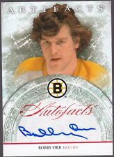 12/13 UD ARTIFACTS AUTO-FACTS AUTOGRAPH BOBBY ORR BRUINS   HAND SIGNED AUTOGRAPH
