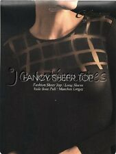 Lingerie-Sexy Stretchy Semi Sheer Top-Black(OS)
