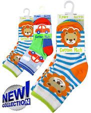 Baby boy socks, pack of 3