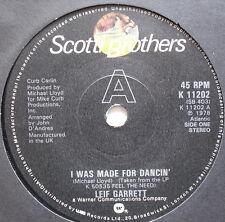 """Leif Garrett-I fue hecha para bailando' - ex 7"""" SINGLE"""