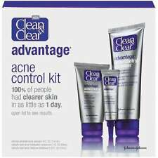 Clean & Clear Advantage Acne Control Kit 1 kit 100% Clearer Skin 1 Day