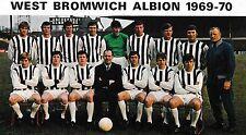 WEST BROMWICH ALBION FOOTBALL TEAM PHOTO 1969-70 SEASON