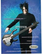 2000 IBANEZ Ergodyne Electric Bass Guitar PAIGE HALEY of Orgy Vtg Print Ad