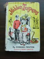 Vtg 1950 Hidden Trapezes by Edward Fenton Illustrated by Reisie Lonette HC DJ