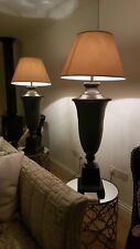 Large Gold Empire Drum Silk Card Lampshade