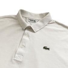 BNWT LACOSTE PH4012 Slim Fit Polo Chemise en coton à manches courtes Taille 7//XXL RRP £ 75