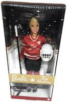 Tim Hortons Hockey Blonde Barbie - New in Box