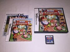 My Sims Kingdom (Nintendo DS) Original Release Complete LN Perfect Mint!