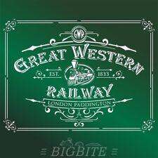 Shabby Chic Stencil/Furniture Print Transfer – Great Western Railway Advert #074