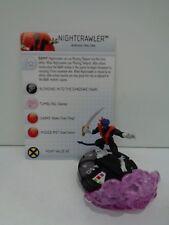 Heroclix - NIGHTCRAWLER - Uncanny X-Men - #044 Rare Figure w/ Card & FX