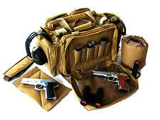 """Range bag Khaki Tan 20"""" NATO Tactical® Gun Pistol  shoot hunt 1200D Nylon Duffle"""