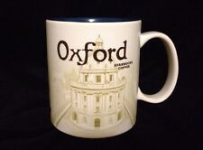 Starbucks Oxford Mug England Bodleian Radcliffe Camera Brasnose UK Coffee Cup