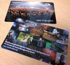 Knappenkarte + FC Schalke 04 + Veranstaltungen Arena + Hülle + Restguthaben +